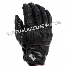 GUANTES OXFORD RACING CORTOS RP-3 AQUA NEGRO (GM210)