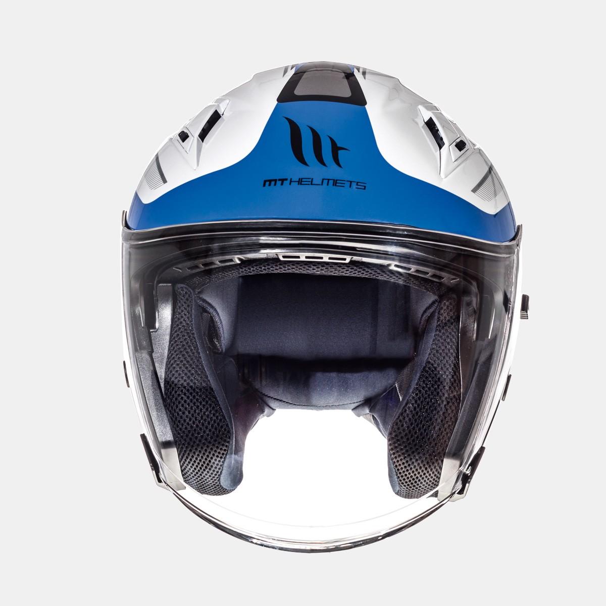 CASCO JET MT AVENUE CROSSROAD GLOSS PEARL WHITE BLUE