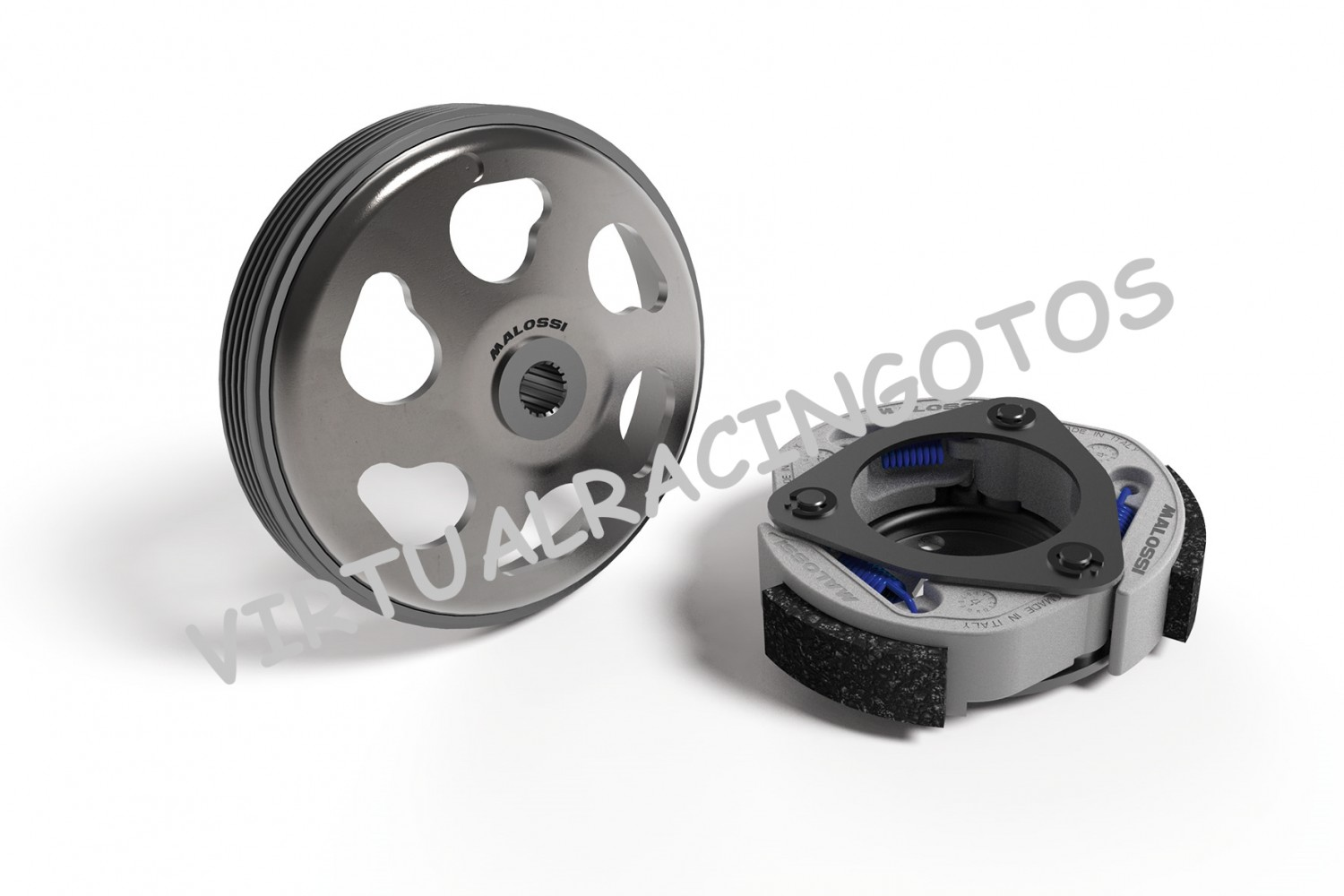 KIT EMBRAGUE + CAMPANA MALOSSI MAXI FLY SYSTEM PARA KYMCO SUPER DINK 125cc ie 4T LC EURO3  5217363