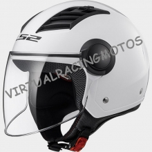 CASCO JET LS2 OF562 AIRFLOW SOLID BLANCO