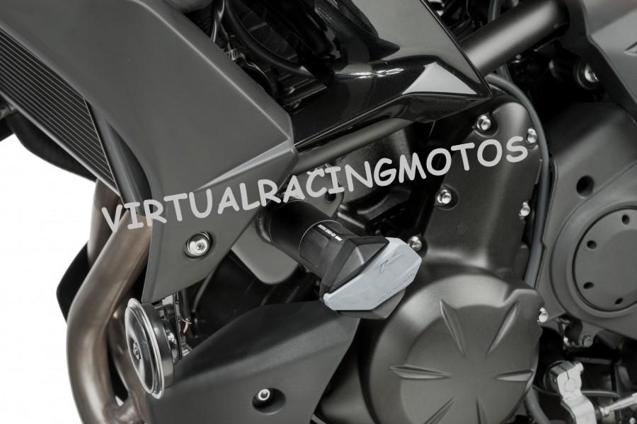 PROTECTOR DE MOTOR PUIG R12 PARA KAWASAKI VERSYS 650cc 2015 (7714)