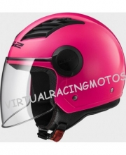 CASCO JET LS2 OF562 AIRFLOW ROSA