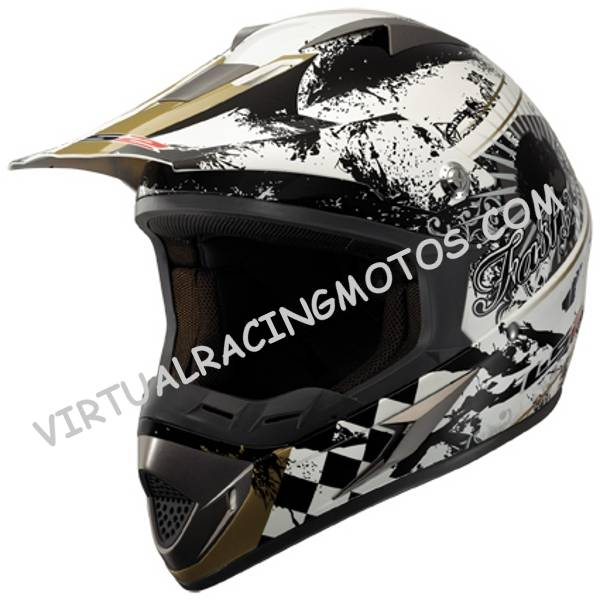 CASCO DE CROSS LS2 MX433.7 DESPERADO