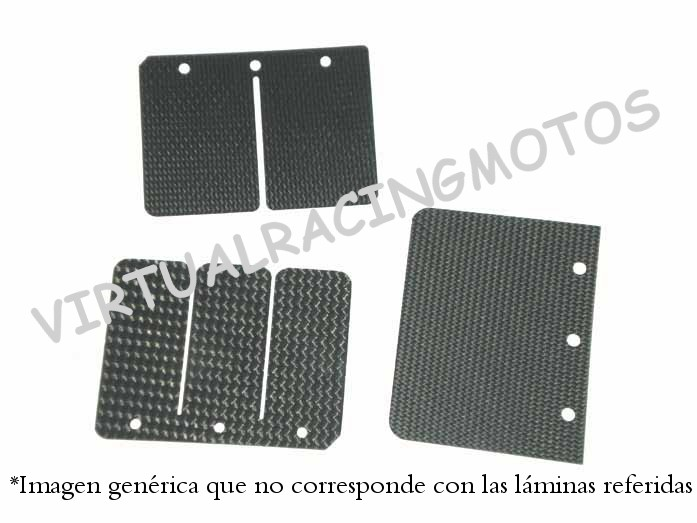 LAMINAS DE CARBONO PARA SUZUKI RMX 250 1990-1993 (LAM-282)